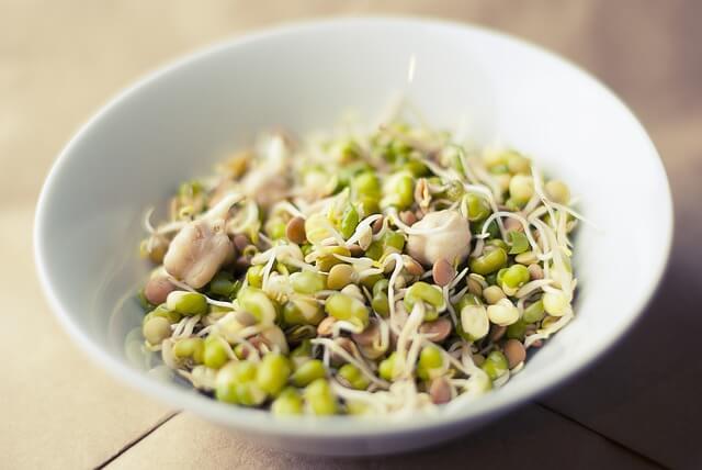 大豆サラダの写真