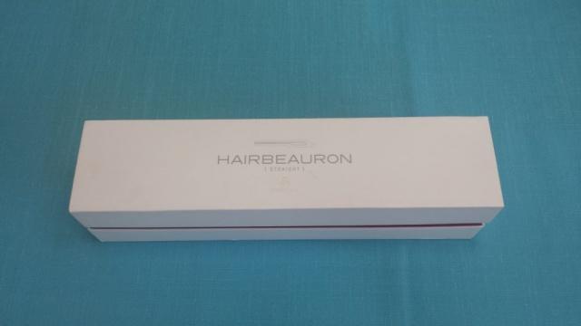 ヘアビューロンストレートの箱の写真