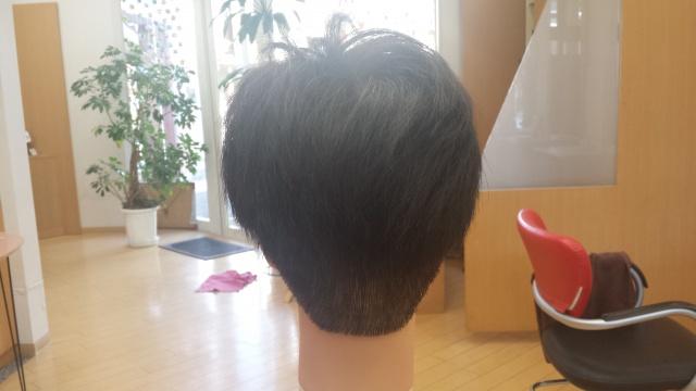 one ok rock Takaさんの髪型 カラー前の写真 後ろ