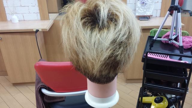 one ok rock Takaさんの髪型 ブリーチ3回後の写真 後ろ