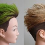 ONE OK ROCK Takaさんの様に緑色に染めた写真