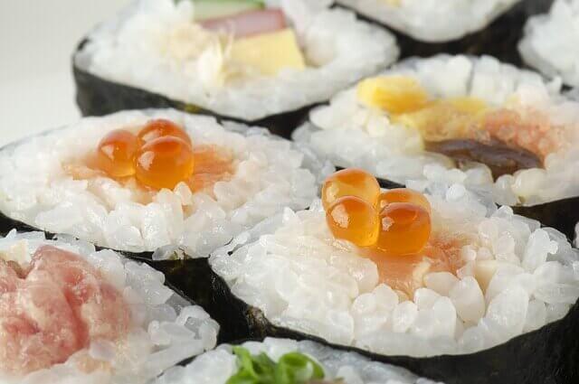 のり巻き寿司の写真