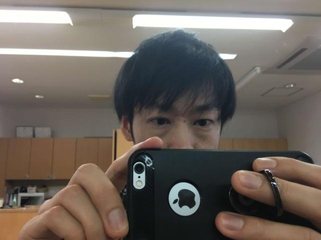 オーガニックワックスを使う前の髪の毛の写真