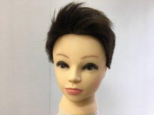 男性のショートヘアの髪型の写真