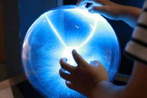 プラズマボールの写真