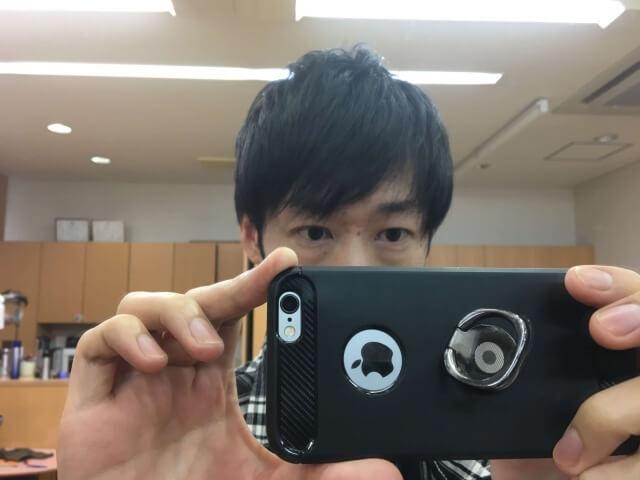 オーガニックワックスを使った髪の毛の写真