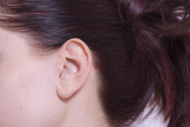 まとめ髪の写真