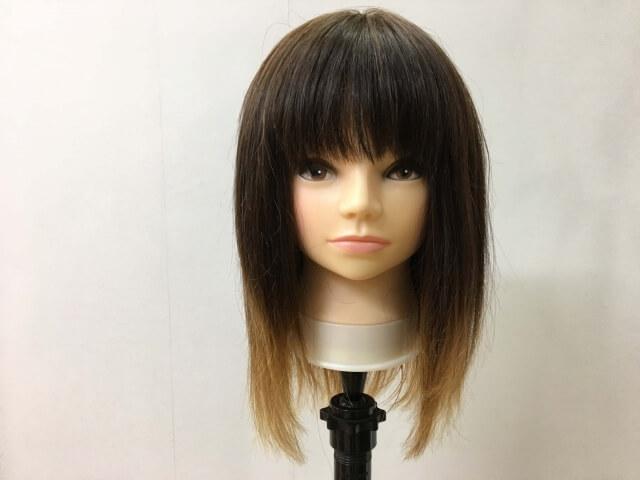 パンテーン流さないトリートメントを付ける前の髪の毛