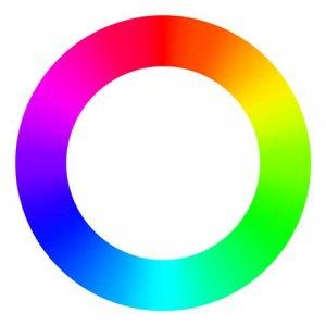 カラーサークルの画像