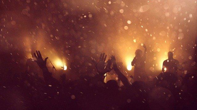 音楽ライブの写真