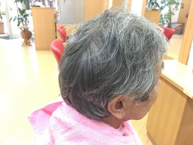 カラートリートメントを使う前の白髪
