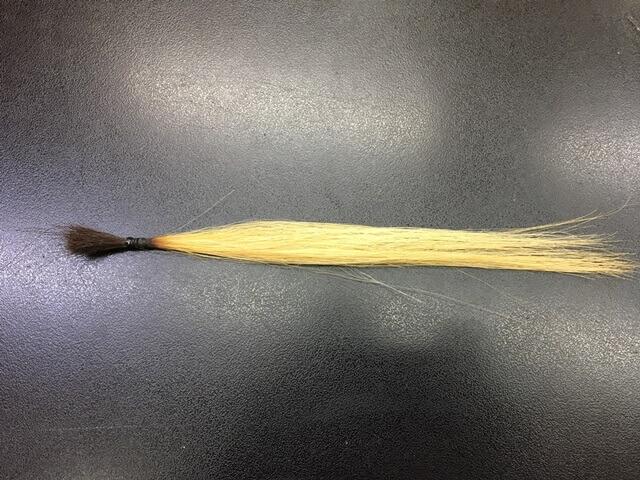 ブリーチ5回の髪の毛の写真