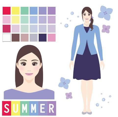 パーソナルカラー診断summer