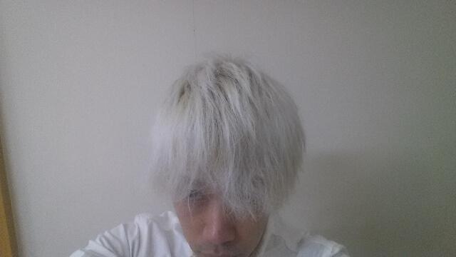 ブリーチ6回の髪の毛の写真