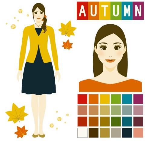 パーソナルカラー診断autumn