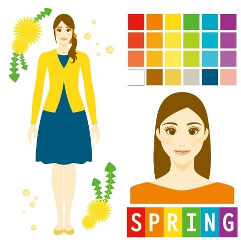 パーソナルカラー診断spring