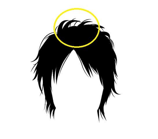 ウルフカット縮毛矯正のポイント