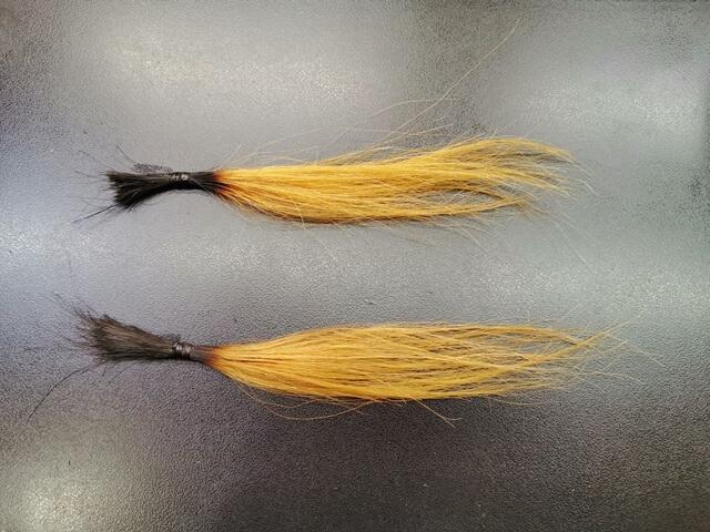 ブリーチ4回してある髪の毛