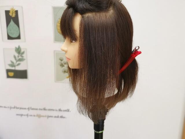 髪の毛のパネル