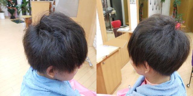 メンズデジタルパーマをかける前の髪