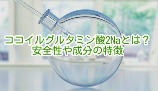 ココイルグルタミン酸2Naとは?安全性や成分の特徴