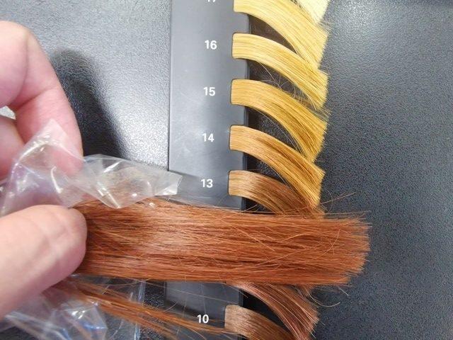 茶色い髪の明るさレベル
