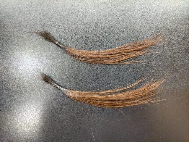 髪質改善トリートメント後の髪を明るくした結果