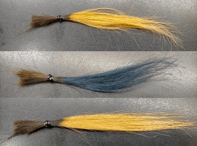 髪質改善トリートメントのヘアカラー色落ち変化